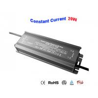 20W IP67 Waterproof LED Driver , High PF LED Power Supply , For LED Street Light