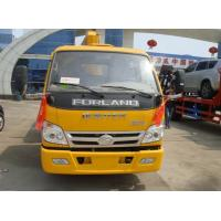 Quality Foton 2ton straight boom crane truck for sale