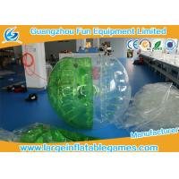 Quality Inflatable Body Ball With Lovely Appearance , Inflatable Soccer Bubble for sale