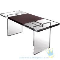Quality acrylic glass table for sale