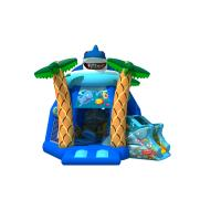 Quality New inflatable ocean wold combo 1000D PVC material inflatable combo with lovely shark modeling for sale