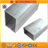 Quality White Anodized Machined Aluminium Profiles For Construction Material High Structural Stability for sale