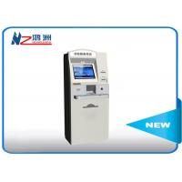 China Grey color self service check in at airports  with RFID , airport ticket kiosk on sale