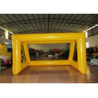 Quality Digital Printing 0.55mm Pvc Tarpaulin Inflatable Football Games simple inflatable Soccer Door for practising for sale