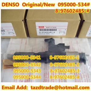 Quality DENSO Injector 095000-5342 / 095000-534# / ISUZU 8-97602485-6 / 8-97602485-# / 8976024850 for sale