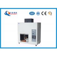 Quality UL94 Plastic Flammability Testing Equipment For Horizontal / Vertical Combustion for sale