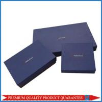 Quality Luxury Apparel Garment Packaging Paper Gift Box Custom Logo Color Print for sale