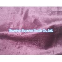 Quality Rayon Cotton Velvet Fabric Like Silk Effect With Slub In Reactive Solid Dyed for sale