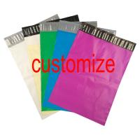 Buy Custom Logo Print Poly Mailer Colored Poly Courier Express Bags at wholesale prices