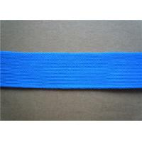 Buy Red Polyester Custom Jacquard Ribbon Fabric Trim 2Cm Width Printed at wholesale prices