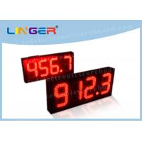 Quality Multi Functional Digital Gas Price Signs With ROHS Certificate 888.8 Format for sale