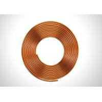 "Quality Anticorrosive 5/16"" Copper Refrigeration Tubing Soft Annealed Pancake Coil Type for sale"