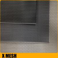 Buy cheap Superior black powder coated Invisible metal window screen for Soundproof from wholesalers