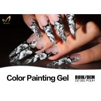 Quality Colorful Nail Art Design Gel Nail Paint Lacquer Nail Polish OEM / ODM Available for sale