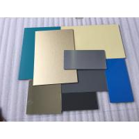 Quality White Lightweight Aluminum Plate Panels , Interior Sheet Metal Wall Panels  for sale