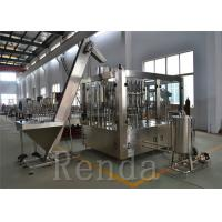 Quality Water Bottle Filling Machine / Mineral Water Pet Bottle Filling Machine Glass Bottle for sale