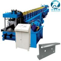 Hydraulic cutting Galvanized Steel C U Z Channel Roll Forming Machine for 3mm for sale