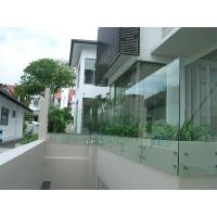 Quality Stainless steel patch fitting / standoff glass railing for interior/ outdoor for sale