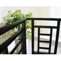 Quality Aluminum Stair Railing For Stairs , Powder Coating / Anodizing Aluminium Exterior Hand Railings for sale