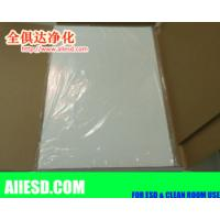 Quality 30layers peelable disposable sticky mat blue white transparent for sale