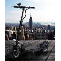 Quality Foldable Two Wheels Electric Scooter With Handles and Night Light for sale