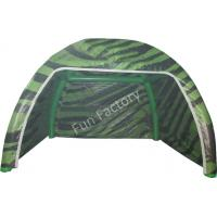 0.55mm Giant Inflatable Camouflage Camping Tent / Military Tent For Travel for sale