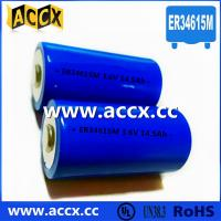 Quality Primary Lithium/ER Battery with 3.6V Voltage and 19Ah Capacity er34615 for sale