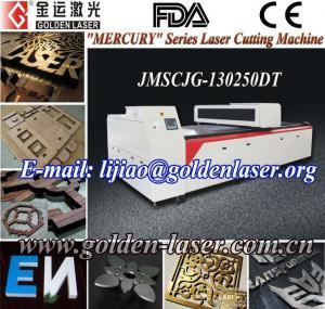 China High Precision CO2 CNC Lazer Cutting Machine Price JMSCJG-130250DT on sale