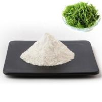 China Sodium Alginate Food Grade As Thickener , Stabilizer , Emulsifier Free Samples on sale
