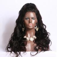 Buy cheap Charming Body Wave Brazilian Lace Front Human Hair Wigs For Lady 180 Density from wholesalers