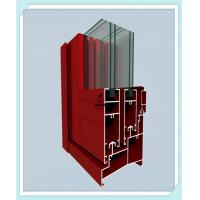 Quality Sliding Door Window Aluminum Profile High Strength Customized Length for sale