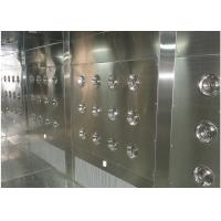 Buy Customized Air Shower Tunnel With Automatic Sliding Door And PLC Control System at wholesale prices