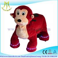 Quality Hansel coin operated battery animals motorized plush animals for sale