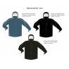 New Multi Color full zip polar fleece jacket men for sale