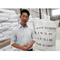 Quality HS code 2833270000 Micronized Barium Sulfate Powder Industrial With High Affinity for sale