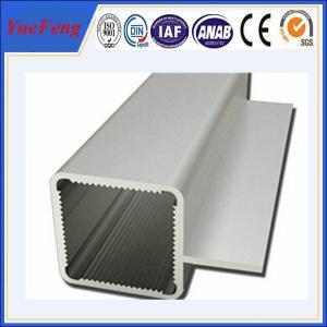 Quality 6063 T5 Threaded Aluminum Tube, aluminum extrusion aluminium pipe profiles for sale