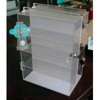 China acrylic display shelves/acrylic cabinet/acrylic showcase on sale