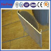 Quality aluminium profile extrusion heat sink,anodized aluminum alloy profile manufacturer,OEM for sale
