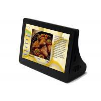 Quality Restaurant Table Top Tablets Touch Screen Food Ordering System , Black for sale