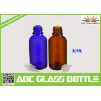 Buy Made In China 10ml 15ml 20ml 30ml 50ml Blue Oil Glass Bottle,Amber Oil Glass Bottle at wholesale prices