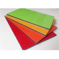 Quality High Gross Lightweight PVDF Aluminium Sandwich Panel Multi Color Curtain Panels for sale