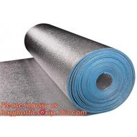 Quality Aluminum foil coated with 3mm EPE foam for thermal insulation,Thermal break foil covered foam insulation board,bagease for sale