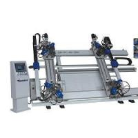 Quality Aluminum Window Machine-CNC Vertical Four-point Corner Crimping Machine for sale