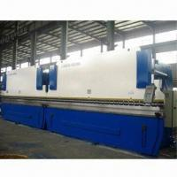 Quality WE67K CNC Electric Hydraulic Synchronization Press Brake/Sheet Metal Brake, Uses Double 2/3 Cylinder for sale
