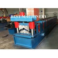 Buy Glazed Aluminum Rib Roof Ridge Metal Roll Forming Machine High Speed at wholesale prices
