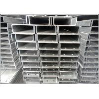 SS400 Galvanized Steel C Channel, Hot Rolled Mild C Channel Steel Beam for sale
