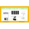 24000btu Off Grid 48V  DC Inverter Compressor 100% Solar Air Conditioning for sale