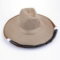 Quality Cowboy Style Brown Color Bee Hats for Beekeepers of Free Size for sale