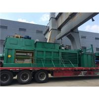 Quality Straw Cardboard Horizontal Baling Machine Semi - Automatic With Manual Belting for sale