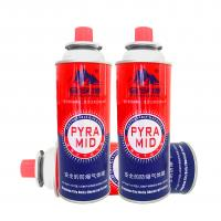 Quality Camping Mini Portable butane gas cylinder canister korea for sale